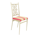 Tulip Chair - Scroll Back