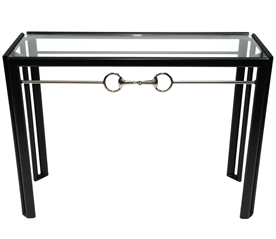 Snaffle Bit Metal Console