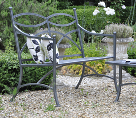Chatsworth Metal Bench