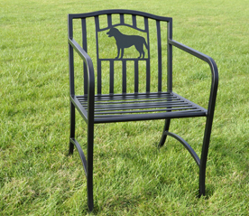 Bennington Silhouette Metal Chair