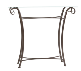 Sorrento Metal Console Table