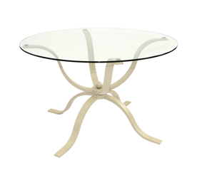 Tulip Metal Table